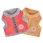Lucca Pinka Dog Harness, dog harnesses, dog harness vests, adjustable dog harnesses