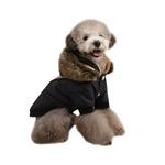 Soothing Hooded Dog Coat from BowWowsBest.com | Dog Coats, Dog Winter Coats, Dog Clothes, Designer Dog Clothes, Dog Beds, Designer Dog Beds, Designer Dog Harness, Dog Clothing, Dog Accessories, Dog Winter Clothing