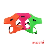 Neon Dog Harness A, BowWowsBest.com, Dog Harnesses, harnesses for dogs, adjustable dog harness, Puppia, dog harness