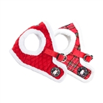 Blitzen Dog Harness B, BowWowsBest.com, Dog Harnesses,  Puppia, dog harness, harness vests for dogs, Christmas dog harnesses