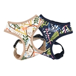Botanical Dog Harness A, BowWowsBest.com, Dog Harnesses, harnesses for dogs, adjustable dog harness, Puppia, dog harness