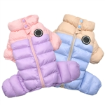 Ultralight Pastel Dog Jumpsuit , dog jumpers, dog coats, big dog coats, winter dog coats