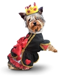 Queen of Hearts Halloween Dog Costume, halloween dog dresses