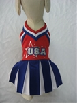 Cheerleader Halloween Dog Costume, BowWowsbest.com, Puppelove