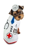 Doctor Barker Halloween Dog Costume,