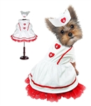 Sweetheart Nurse Halloween Dog Costume