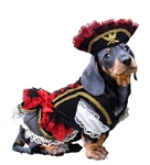 Swashbuckler Pirate Halloween Dog Costume