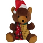 Christmas Bear Dog Toy, dog toys