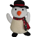 Christmas Snowman Dog Toy | Dog Toys, Christmas Toys, Holiday Dog Toys, Designer Dog Toys, Christmas Dog Wear, Christmas Dog Clothing, Holiday Dog Clothes from BowWowsBest.com