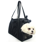 Petote Charlie Dog Carrier Black