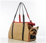 Petote Charlie Dog Carrier Khaki Collection