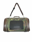 Kelle camouflage pet travel carriers