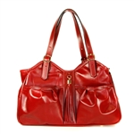 Metro Couture Dog Carrier Purse. Ruby Red
