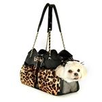 Metro Couture Dog Carrier Purse. Quilted