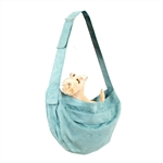 Bimini Blue Cuddle Dog Carrier, dog purses, carriers for dogs, BowWowsbest.com,  Susan Lanci Designs
