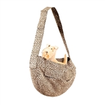 Cheetah Couture Cuddle Dog Carrier, dog purses, carriers for dogs, BowWowsbest.com,  Susan Lanci Designs