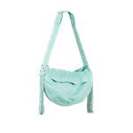 Mint Cuddle Dog Carrier with Fringe, dog purses, carriers for dogs, BowWowsbest.com,  Susan Lanci Designs
