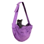 Amethyst Cuddle Dog Carrier, dog purses, carriers for dogs, BowWowsbest.com,  Susan Lanci Designs