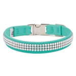 Perfect Fit 3 Row Giltmore Dog Collar, BowWowsBest.com, Susan Lanci Designs