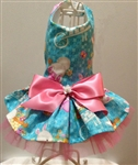 Easter Bunny Basket Dog Dress, dog dresses, formal dog dresses, dog wedding attire