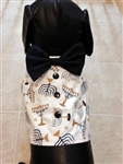 Hanukkah Festival of Lights Dog Vest, dog harnesses, dog costumes, big dog clothes, Chanukah dog attire