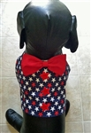 Stars Galore Patriotic Dog Vest, dog harnesses, dog costumes, big dog clothes