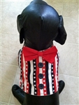 Stars and Stripes Patriotic Dog Vest, dog harnesses, dog costumes, big dog clothes