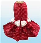 Red, White and Blue Patriotic Big Dog Dress, Red, White and Blue dog clothes. large dog costumes